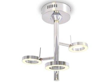 Plafonnier LED avec 3 lumières Blanc chaud - vidaXL