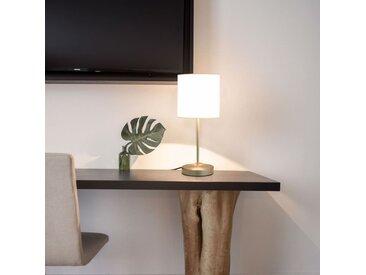 Lampes de table 2 pcs Bouton tactile Blanc E14 - vidaXL