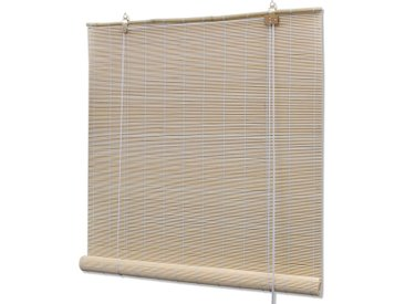 Store roulant en bambou 150 x 160 cm Naturel - vidaXL