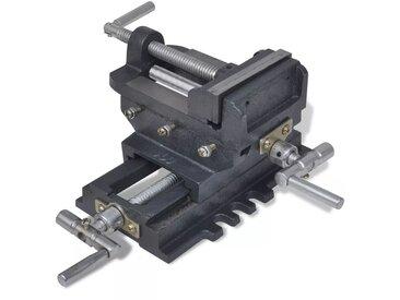 Étau de perceuse à pression manuelle 78 mm - vidaXL