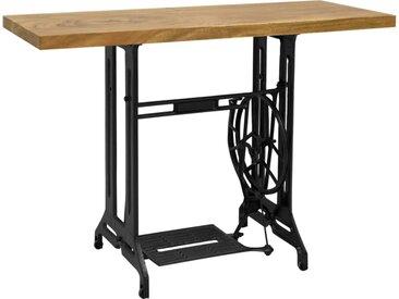 Table console avec machine à coudre 110x40x75 cm - vidaXL