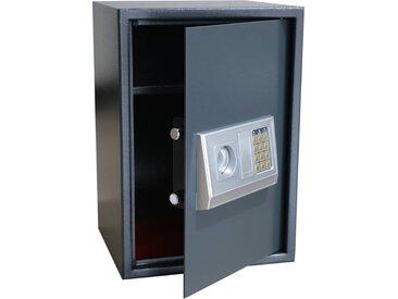 Coffre-fort numérique électronique avec étagère 35x31x50 cm - vidaXL