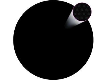 Couverture de piscine Noir 381 cm PE - vidaXL