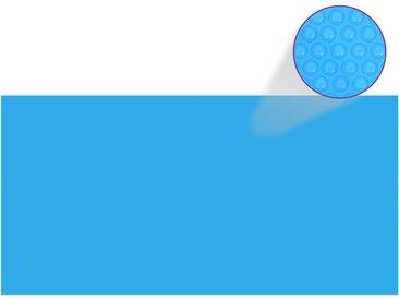 Couverture de piscine Bleu 975 x 488 cm PE - vidaXL