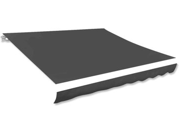 Toile d'auvent Anthracite 350x250 cm - vidaXL