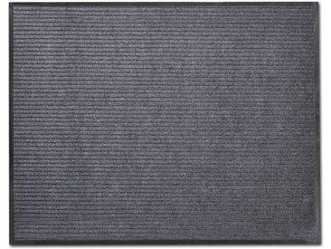 Tapis d'entrée PVC Gris 90 x 150 cm - vidaXL