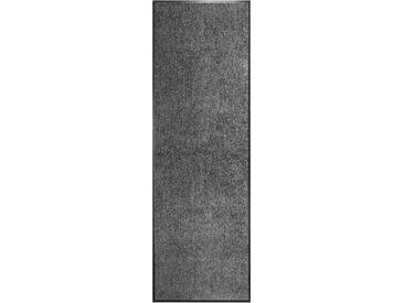 Paillasson lavable Anthracite 60x180 cm - vidaXL