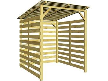 Abri de stockage du bois de chauffage Bois de pin imprégné - vidaXL
