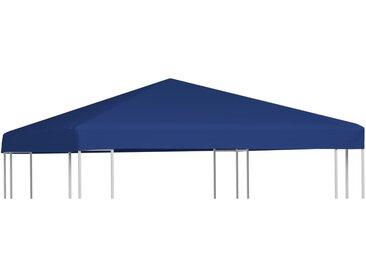 Toile supérieure de belvédère 310 g / m² 3 x 3 m Bleu - vidaXL