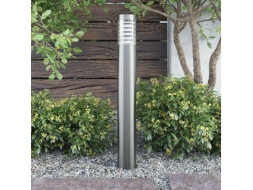 Borne de jardin en acier inoxydable - vidaXL