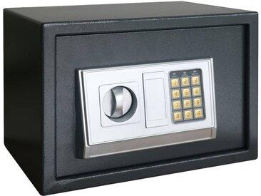 Coffre-fort numérique électronique avec étagère 35x25x25 cm - vidaXL