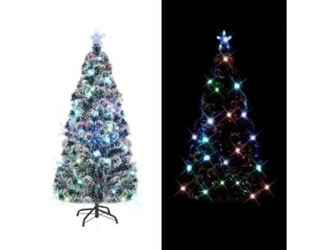 Arbre de Noël artificiel et support/LED 150 cm 170 branches - vidaXL