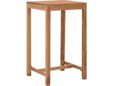 Table de bar de jardin 60x60x105 cm Bois de teck solide - vidaXL