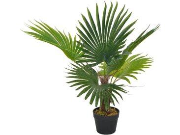 Plante artificielle avec pot Palmier Vert 70 cm - vidaXL
