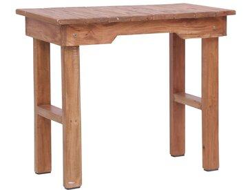 Table d'appoint 70 x 35 x 60 cm Bois d'acajou massif - vidaXL