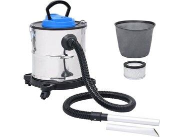 Aspirateur à cendres et filtre HEPA 1200W 20 L Acier inoxydable - vidaXL