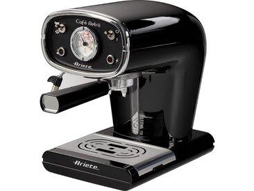 ARIETE 1388 Machine expresso classique Cafe Retro - Noir - vidaXL