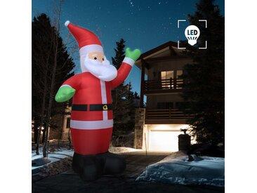 Père Noël gonflable LED IP44 600 cm XXL - vidaXL