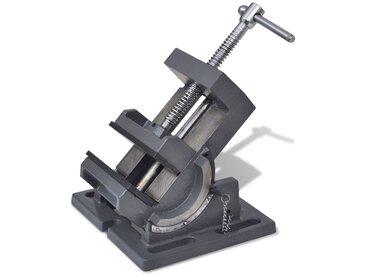 Étau inclinable de perceuse à pression manuelle 110 mm - vidaXL