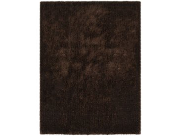 Tapis à poils longs 80 x 150 cm Marron - vidaXL