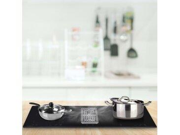 Plaque de cuisson à induction Flexizone intégrée et table 78 cm  - vidaXL