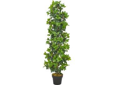Plante artificielle avec pot Laurier Vert 150 cm - vidaXL