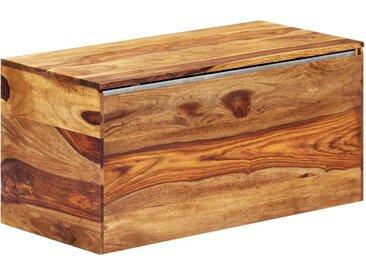 Coffre de rangement 80 x 40 x 40 cm Bois massif de Sesham    - vidaXL