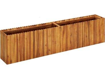Lit surélevé de jardin 200x30x50 cm Bois massif d'acacia - vidaXL