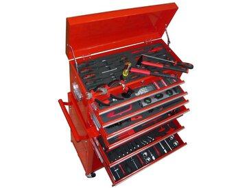 Boîte à outils avec 7 compartiments et 250 pièces - vidaXL