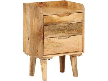 Table de chevet Bois de manguier massif 40 x 30 x 59,5 cm - vidaXL