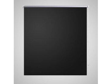 Store enrouleur occultant 120 x 230 cm noir - vidaXL