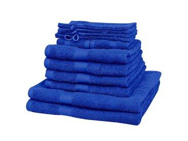Serviette pour maison 12 pcs Coton 500 gsm Bleu royal  - vidaXL