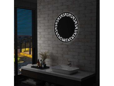 Miroir à LED pour salle de bain 70 cm - vidaXL
