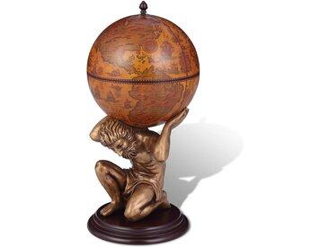 Bar sous forme de globe Atlas 42 x 42 x 85 cm  - vidaXL