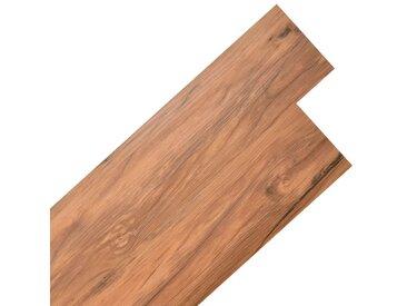 Planche de plancher PVC autoadhésif 5,02 m² 2 mm Orme naturel - vidaXL