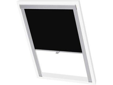 Store enrouleur occultant Noir U08/808  - vidaXL