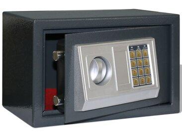 Coffre-fort numérique électronique 31 x 20 x 20 cm - vidaXL