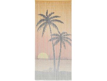 Rideau de porte contre insectes Bambou 90 x 200 cm - vidaXL