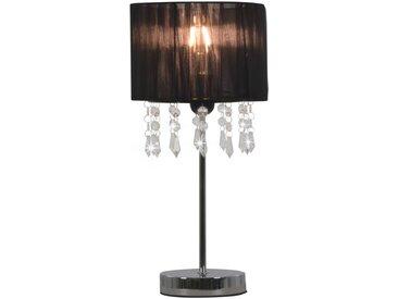 Lampe de bureau Noir Rond E27 - vidaXL