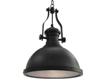 Plafonnier Noir Rond E27 - vidaXL