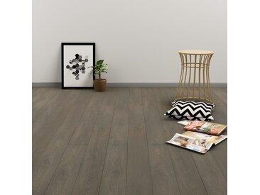 Planches de plancher autoadhésives 4,46 m² PVC Gris et marron - vidaXL