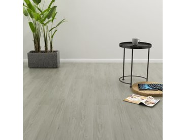 Planches de plancher autoadhésives 4,46 m² 3 mm PVC Gris - vidaXL