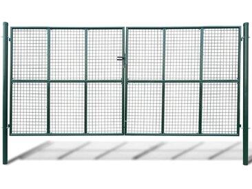 Portillon Maille 415 x 225 cm / 400 x 175 cm  - vidaXL