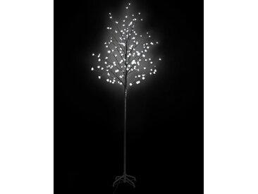 Arbre lumineux LED 180 cm blanc - vidaXL