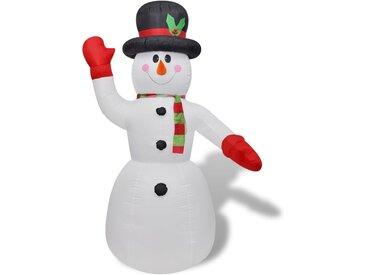 Bonhomme de neige gonflable de 240 cm - vidaXL