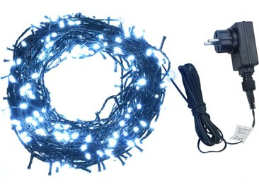 Guirlande lumineuse 2000LED Intérieur/ex. 200m IP44 Blanc froid - vidaXL