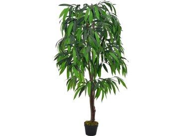 Plante artificielle Manguier avec pot Vert 140 cm - vidaXL