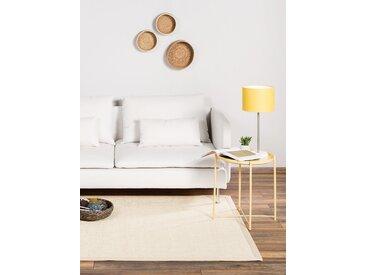 Tapis Sisal avec bordure Crème 160x230 cm - Tapis nature
