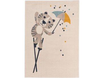 Tapis enfant Juno Crème 120x170 cm - Tapis pour chambre d'enfants/bébé