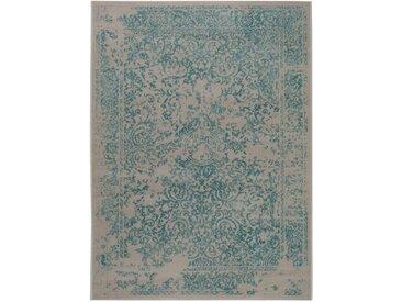 Tapis Vintage Antique Turquoise 160x230 cm - Tapis poil ras / effet usé